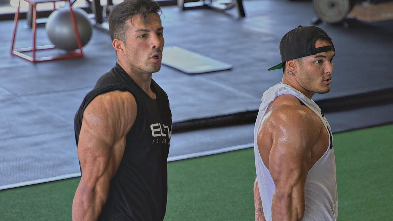 I\'m A Student | Practice With 2X Olympia Champ Jeremy Buendia - YouTube