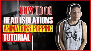 How to Do Head Isolations Animation Popping Tutorial | El Tiro