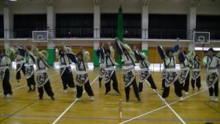 福井大学よっしゃこい追いコンでの 13代目による2013年度演舞「夢光咲」...