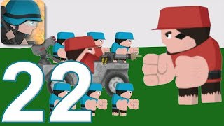 CLONE ARMIES - Walkthrough Gameplay Part 22 - PvP ARENA (iOS Android)