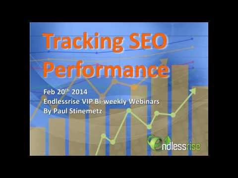 Tracking SEO Performance
