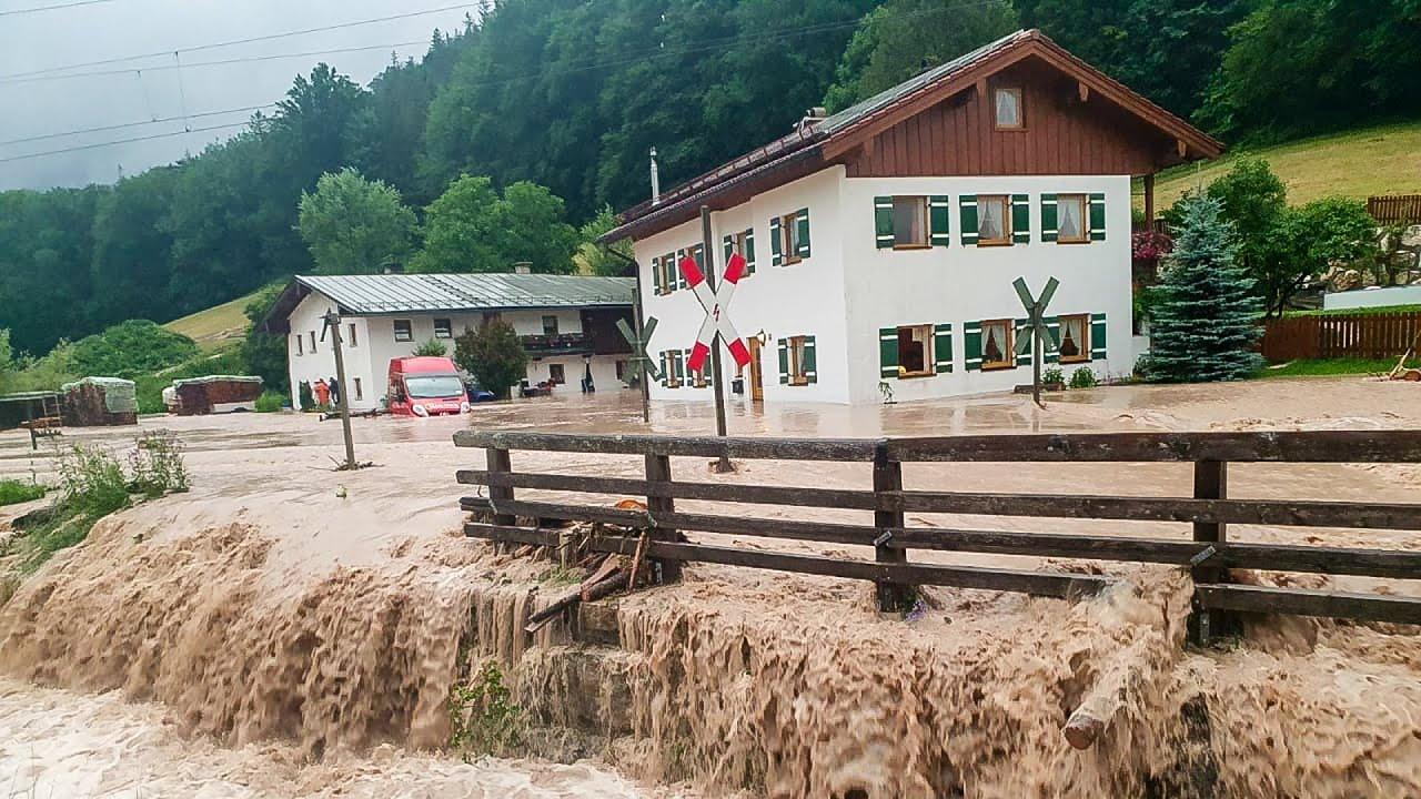 Germany's WORST Flooding in Decades 2021: Nürburgring Racetrack transforms into Rescue Center
