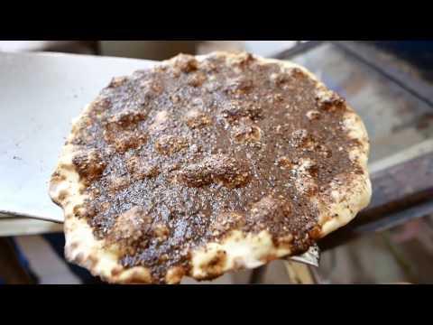 Manoushe Zaatar: A Traditional Lebanese Breakfast