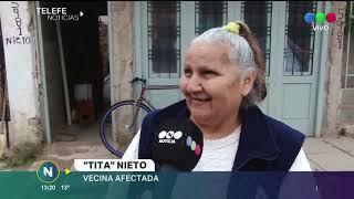 VECINOS DE BARRIO COMERCIAL EN ALERTA POR LAS NAPAS: SE HUNDIÓ UN POZO CIEGO