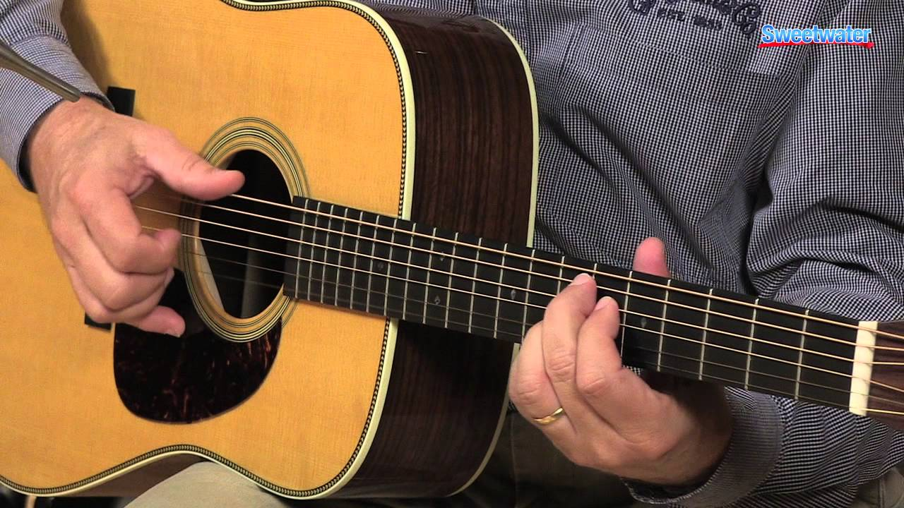 Martin Hd 28v Acoustic Guitar Demo Sweetwater Sound Youtube