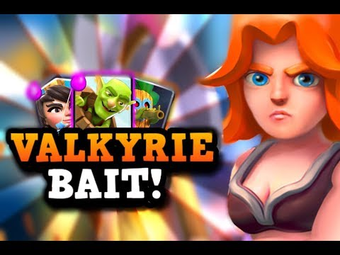 VALKYRIE BAIT! Deck of the Week Series in Clash Royale ft. GoHawks