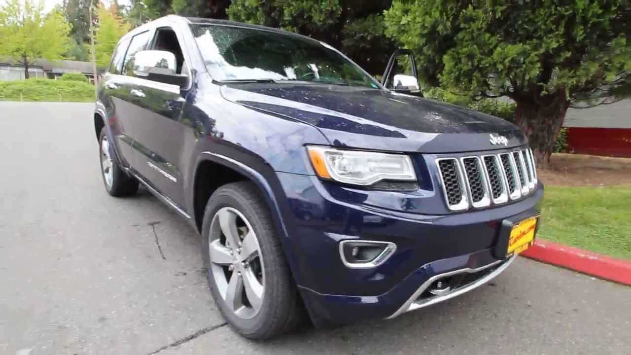 Ec233628 2014 Jeep Grand Cherokee Overland Dcj Of