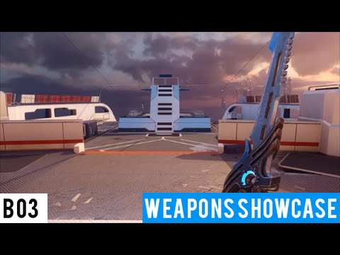 BO3-Showcase All Blackmarket weapons Part 1