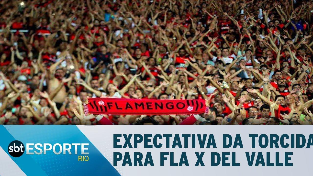 A Expectativa da torcida para Flamengo x Independiente Del Valle