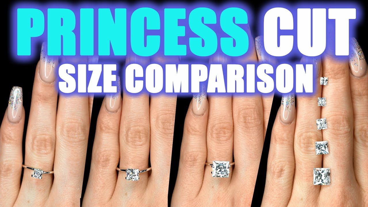 what size wear engagement diamond considers the girl ring promo a carat who big average