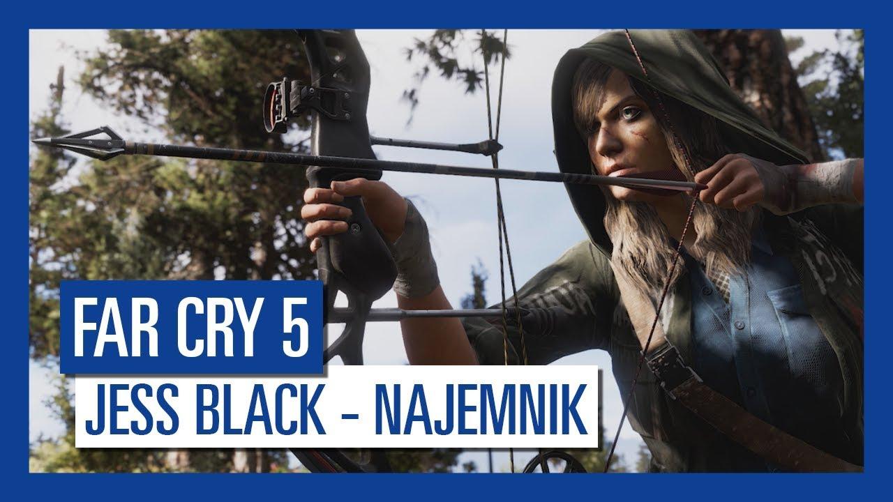 Far Cry 5: Jess Black – najemnik | Charakterystyka postaci |