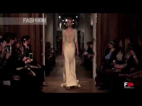 """TONY WARD"" Full Show Spring Summer 2014 Haute Couture Paris by Fashion Channel"