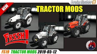 FS19 | New Tractor Mods (2019-05-12) - review