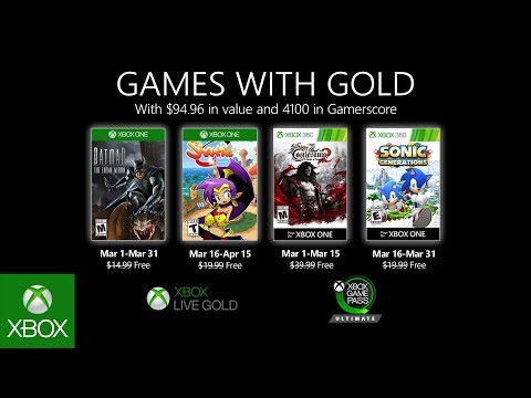xbox live games with gold march 2020, Xbox Live Games with Gold announced for March 2020, Gadget Pilipinas, Gadget Pilipinas