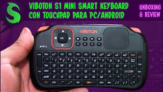 Viboton S1 mini - Teclado y Touchpad [PC/Android]