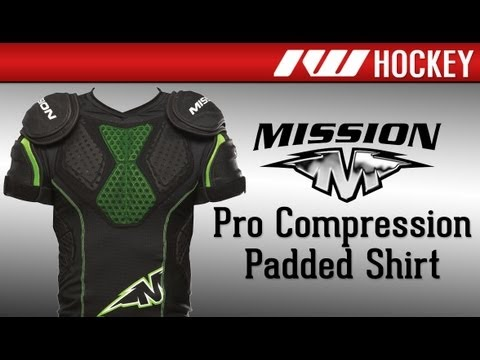 3e490459f Mission Pro Compression Padded Shirt Review - YouTube