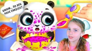 ПРИКЛЮЧЕНИЯ МАЛЫША ПАНДЫ Лу Играю в игру для детей Смешное видео для детей