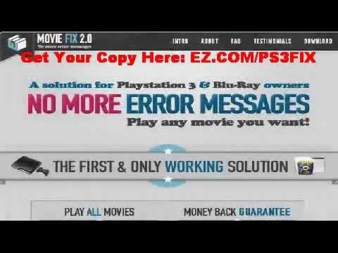 CINAVIA MESSAGE CODE 3 PS3 FIX