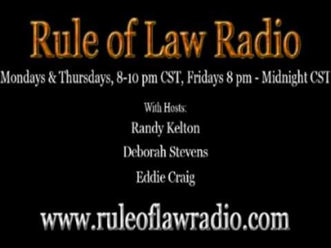 How to Stop Foreclosure Rule of Law Radio 9/07/2012 Part 1