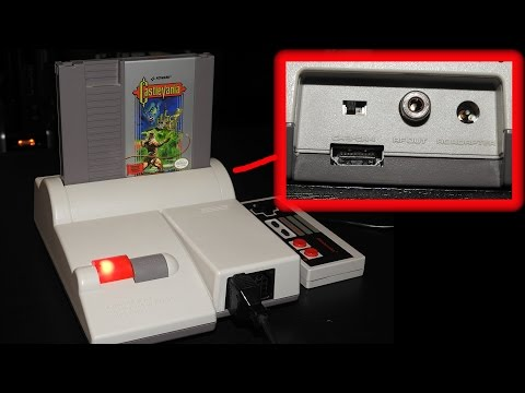 Hi-Def NES Unboxing and Review