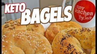 How to Make Keto Bagels // Tiny Kitchen Big Taste :: Keto Month