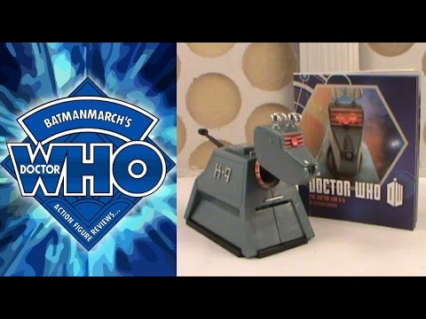 Doctor Who Action Figure Review: K-9 Light and Sound Figurine