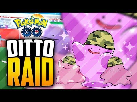 Pokemon Go - DITTO RAID GLITCH!?! (Pokemon Go RAID Glitch!)