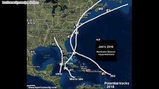 Download Video 2018 hurricane landfall predictions MP3 3GP MP4
