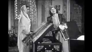 أم كلثوم  ( بكرة السفر ) -  من فيلم دنانير.