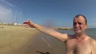 Едем купаться на СОБАЧИЙ пляж Испания в Средиземном море.