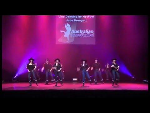 Australian Dance Festival 09 Line Dancing by Hotfoot