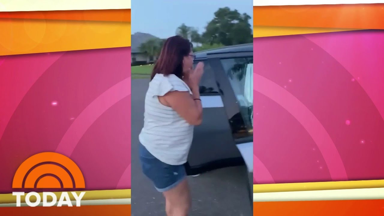 Man Fakes Car Accident To Surprise His Wife On Her Birthday