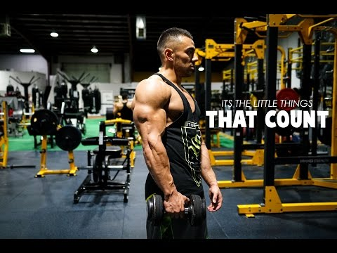 ITS THE LITTLE THINGS THAT COUNT | My Tips On Rounded Delts! | NEW WORKOUT
