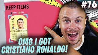 FIFA 20 OMG I GOT CRISTIANO RONALDO! THE BEST CARD in ULTIMATE TEAM!