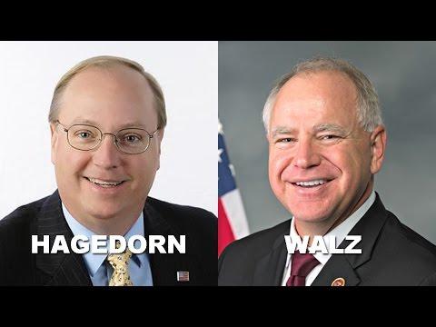 Rep. Tim Walz Debates Jim Hagedorn In Mankato