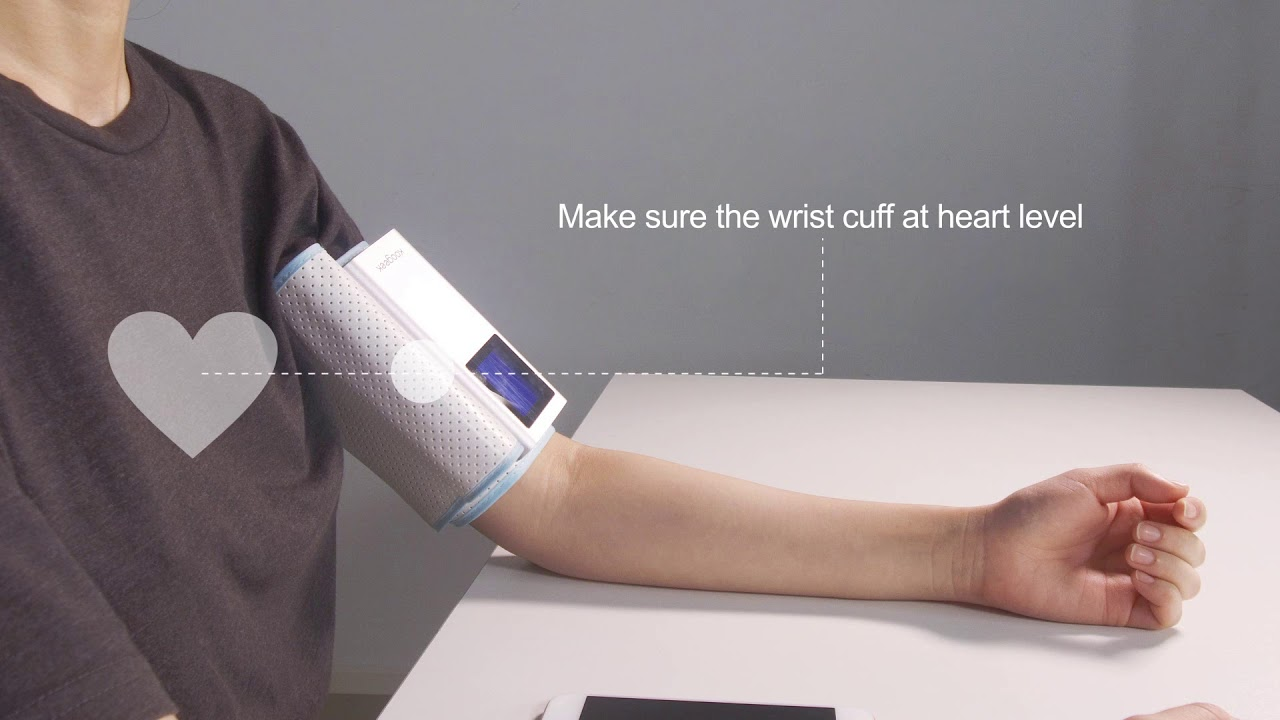 Koogeek smart blood pressure monitor