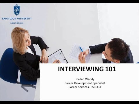 Interviewing 101: How To Do Well in an Interview