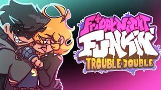 Friday Night Funkin' - V.S. Emma & Cuackbert FULL WEEK - Trouble Double [FNF MODS]