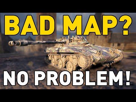 World Of Tanks    BAD MAP? NO PROBLEM!