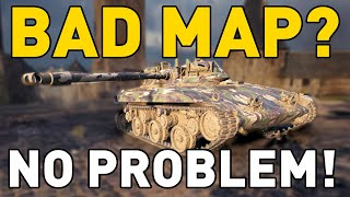 World of Tanks || BAD MAP? NO PROBLEM!