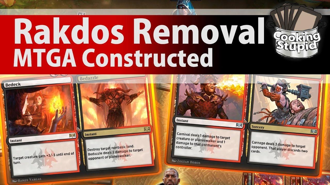 Rakdos Removal - MTGA Constructed