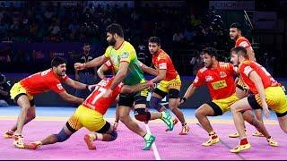 Pro Kabaddi 2019 HIghlights: Gujarat Fortune Giants vs Patna Pirates
