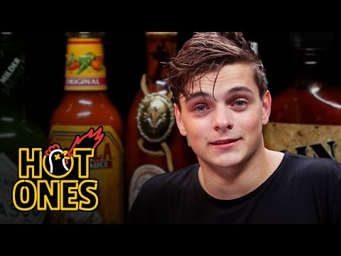 Martin Garrix Tests His Limits Eating...