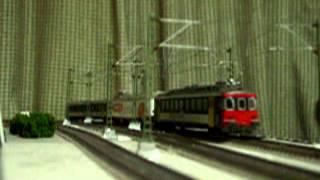 Europe Rail  Modelrailroad Modelleisenbahn HO SBB RBe540( Umbau Zurich S-Bahn) +SBB Coop +BDt