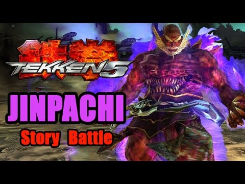 Tekken 5 Ps2 Jinpachi Demon Story Battle Hq Youtube