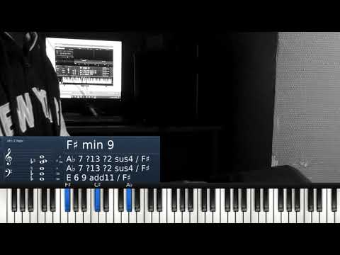 Moving Forward Israel Houghton Piano Cover, Chords
