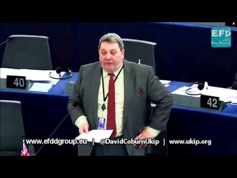 EU fiscal incontinence will drive business to the City of London - David Coburn MEP