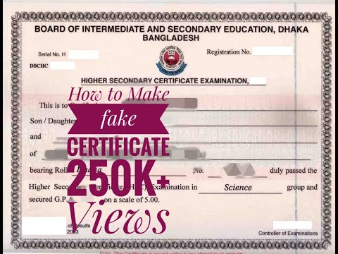 How To Make Fake Certificate ।। ঢাকার নীলক্ষেতে চলছে সার্টিফিকেট জালিয়াতির রমরমা ব্যবসা।