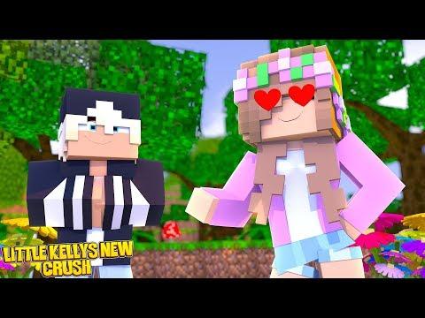LITTLE KELLY HAS A NEW CRUSH! | Minecraft Little Kelly
