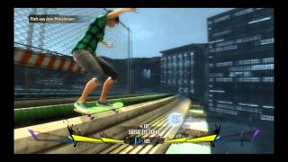 Shaun White Skateboarding PC Gameplay | Chase Scene